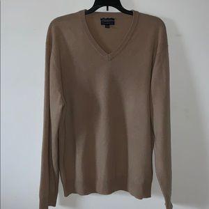 Club Room Estate Men's L Cashmere V-neck Sweater